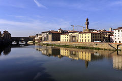 Arno river, Florence, Italy Royalty Free Stock Photo