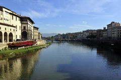 Arno river, Florence, Italy Royalty Free Stock Image