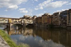 Arno River, Florence Italy Royalty Free Stock Photography