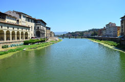 Arno River in Florence - Italy Stock Image