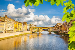 Arno river in Florence Royalty Free Stock Photo
