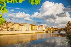 Arno river in Florence Stock Photos