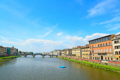 Arno river in Florence Stock Images