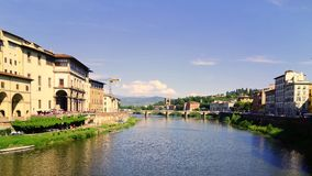 Arno River, Florence, Italy Royalty Free Stock Photography