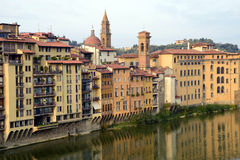 Arno River - Florence, Italy Royalty Free Stock Images