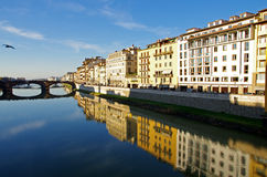 Arno River in Florence, Italy Stock Photography