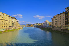 Arno River Florence Italy Royalty Free Stock Images