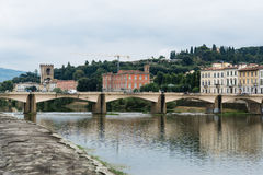 Arno River, Florence, Italy Stock Image