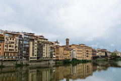 Arno River, Florence, Italy Stock Images
