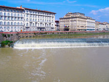 Arno River in Florence. Stock Images