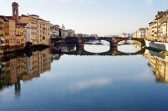 Arno River in Florence Stock Photography