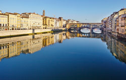 Arno river - Florence Royalty Free Stock Photography