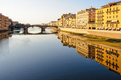 Arno River - Florence Stock Image