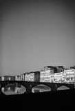 Arno river - Florence Royalty Free Stock Photos