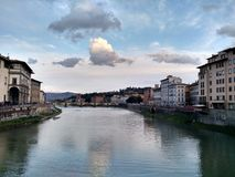 Arno river, Florence royalty free stock photography