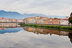 Arno River in Pisa Royalty Free Stock Photo