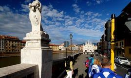 Arno River in Pisa Stock Photos