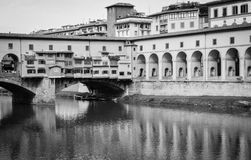 Arno river and Ponte Vecchio (2), Florence, Italy Royalty Free Stock Image