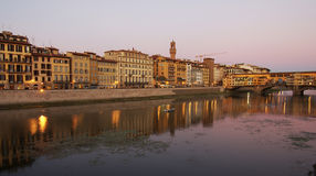 Arno River Stock Photo