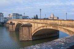 arno rzeka Florence Tuscany (Włochy) Zdjęcie Royalty Free