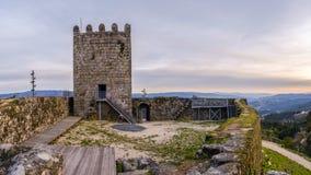 Arnoia-Schloss, alias maurisches Schloss Stockbilder