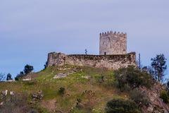 Arnoia-Schloss, alias maurisches Schloss Lizenzfreie Stockbilder