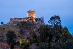 Arnoia-Schloss, alias maurisches Schloss Stockfotos