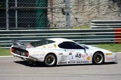 Arnold Meier ` s wit Ferrari 512 BB/LM Royalty-vrije Stock Foto's