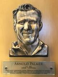 Arnold Palmer Hall of Fame Plaque