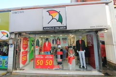 Arnold palmer shop in Jeju, South Korea Stock Images