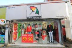 Arnold palmer shop in Jeju, South Korea stock images