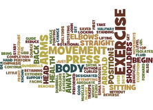 Arnold Press Guide Word Cloud-Concept Royalty-vrije Stock Afbeelding