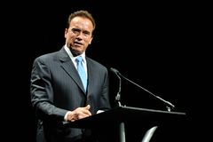 Arnold Schwarzeneger. At Arnold Classic Stock Photography