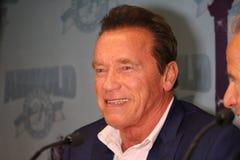Arnold Schwarzenegger στη Βαρκελώνη Στοκ εικόνες με δικαίωμα ελεύθερης χρήσης