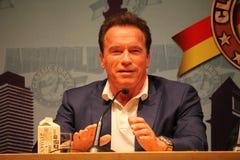 Arnold Schwarzenegger στη Βαρκελώνη Στοκ φωτογραφία με δικαίωμα ελεύθερης χρήσης