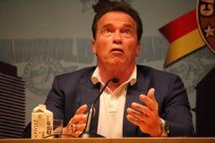 Arnold Schwarzenegger στη Βαρκελώνη Στοκ φωτογραφίες με δικαίωμα ελεύθερης χρήσης