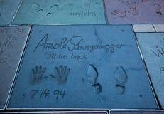 Arnold Schwarzenegger immagine stock