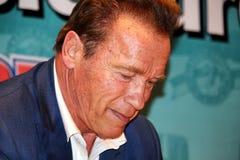 Arnold Schwarzenegger em Barcelona Fotografia de Stock