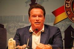 Arnold Schwarzenegger en Barcelona imágenes de archivo libres de regalías