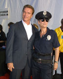 Arnold Schwarzenegger,Jamie Lee Curtis Royalty Free Stock Photography