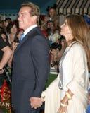 Arnold Schwarzenegger,Maria Shriver Royalty Free Stock Images