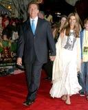 Arnold Schwarzenegger, Maria Shriver fotos de archivo libres de regalías