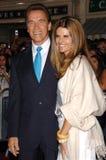 Arnold Schwarzenegger,Maria Shriver Royalty Free Stock Image