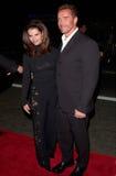 Arnold Schwarzenegger, Maria Shriver Στοκ Φωτογραφίες