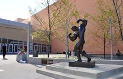 Arnold-Skulptur, Columbus Lizenzfreies Stockbild