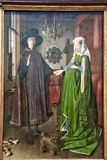 The Arnolfini Portrait, 1434 royalty free stock photos