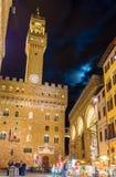Arnolfo塔的看法在佛罗伦萨 免版税库存图片