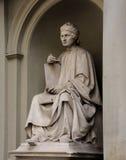 Arnolfo由路易Pampaloni的di Cambio雕象他是一位著名意大利新生建筑师 免版税图库摄影