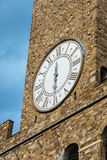 Arnolfo tower, Palazzo della Signoria and Palazzo Vecchio, Piazz Royalty Free Stock Images