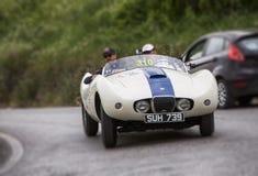 ARNOLT Bristol Bolide 1954. Mille miglia 2015 italy history vintage car retro Stock Photos